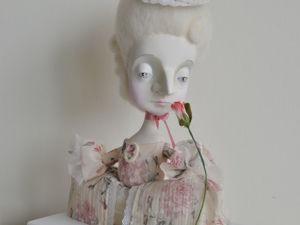 Как смастерить куклу «Розочку» своими руками. Ярмарка Мастеров - ручная работа, handmade.
