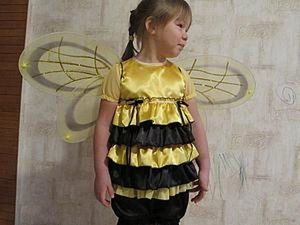Sew a Kids' Bee Carnival Costume with Your Own Hands. Livemaster - handmade