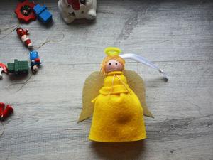 Делаем игрушку-ангела. Ярмарка Мастеров - ручная работа, handmade.