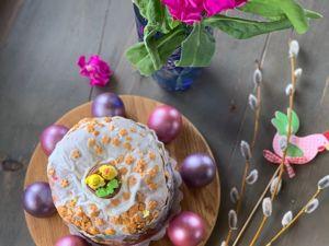 Изготавливаем пасхальную подставку для яиц и кулича. Ярмарка Мастеров - ручная работа, handmade.