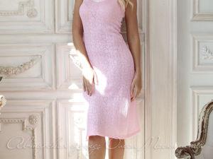 Видео-ролик, платье  «Бело-розовый зефир». Ярмарка Мастеров - ручная работа, handmade.