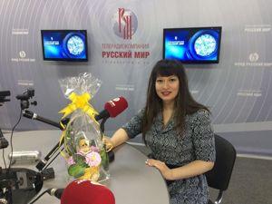 Я в эфире телерадиокомпании «Русский Мир». Ярмарка Мастеров - ручная работа, handmade.