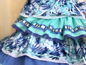 Платье Прованс цвета лаванды и Тиффани. Ярмарка Мастеров - ручная работа, handmade.