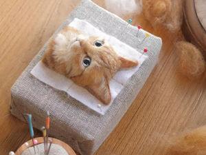 Гиперреалистичные кошки художник Wakuneco. Ярмарка Мастеров - ручная работа, handmade.