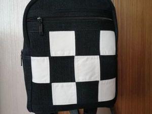 Лотерея в помощь. Комплект «Шахматы» , рюкзак и косметичка. Ярмарка Мастеров - ручная работа, handmade.