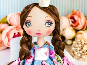 Принцесса Клео  текстильная кукла, подарок девочке, подарок девушке любимой. Ярмарка Мастеров - ручная работа, handmade.