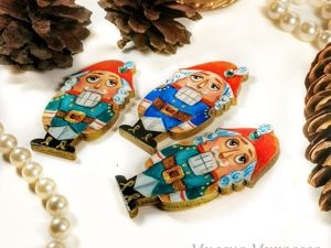 Новые Щелкунчики-брошки для девочек!. Ярмарка Мастеров - ручная работа, handmade.