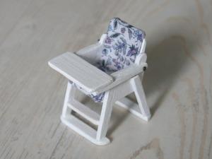 Видео мастер-класс: делаем миниатюрный стульчик для кормления. Ярмарка Мастеров - ручная работа, handmade.