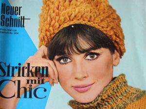 Neuer schnitt  — спец.выпуск- вязанная мода -1965. Ярмарка Мастеров - ручная работа, handmade.