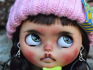Vlada. New Doll. Custom Blythe. Ярмарка Мастеров - ручная работа, handmade.