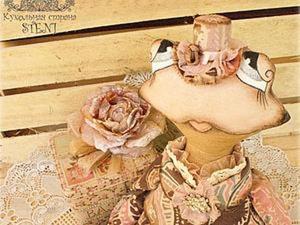 Модная шляпка для куклы. Ярмарка Мастеров - ручная работа, handmade.