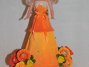 Мастер-класс: делаем платье с конфетами для куклы. Ярмарка Мастеров - ручная работа, handmade.
