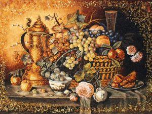Процесс создания картин из янтаря. Ярмарка Мастеров - ручная работа, handmade.