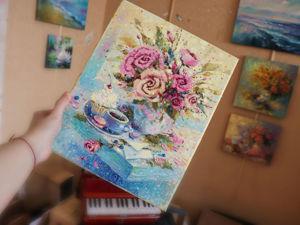 Видео моей картины  «Для тебя». Ярмарка Мастеров - ручная работа, handmade.