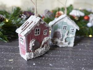Домики из картона своими руками. Ярмарка Мастеров - ручная работа, handmade.
