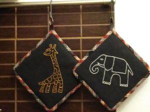 Новинка! Африканские прихватки!. Ярмарка Мастеров - ручная работа, handmade.