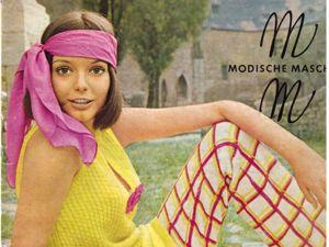 Modische Maschen № 1/1970. Фото моделей. Ярмарка Мастеров - ручная работа, handmade.