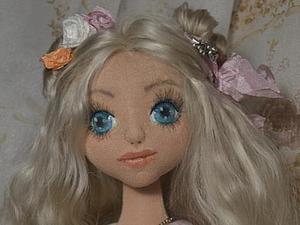 Мастер-класс: создание объемного лица кукле. Ярмарка Мастеров - ручная работа, handmade.