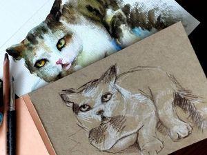 Учимся правильно срисовывать. Ярмарка Мастеров - ручная работа, handmade.