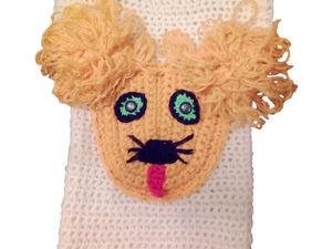 Вяжем детский жилет с карманом Собачка. Часть 1-2. Ярмарка Мастеров - ручная работа, handmade.