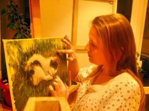 Интуитивная живопись Анны Буркиной. Ярмарка Мастеров - ручная работа, handmade.