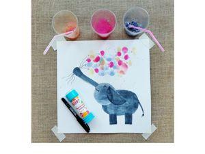 Рисуем мыльными пузырями вместе с детьми. Ярмарка Мастеров - ручная работа, handmade.