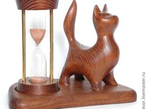 Акция!!! 05.06.- 07.06.2019 — Песочные часы  «Cat-3»  со Скидкой — 30%. Ярмарка Мастеров - ручная работа, handmade.