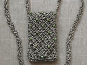 Плетем сумочку для мобильного телефона (окончание). Ярмарка Мастеров - ручная работа, handmade.