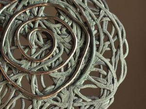 17 июля — серьги  «Кружево для Аэлиты» , серые. Ярмарка Мастеров - ручная работа, handmade.