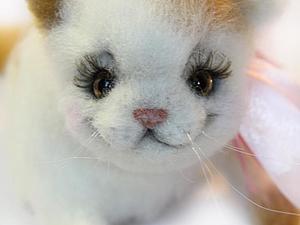 Мастер-класс: котенок из шерсти. Ярмарка Мастеров - ручная работа, handmade.