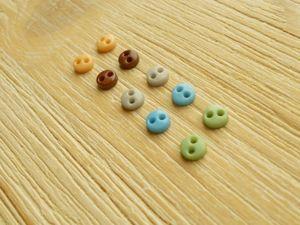 В наличии микропуговки 4 мм любимых цветов. Ярмарка Мастеров - ручная работа, handmade.