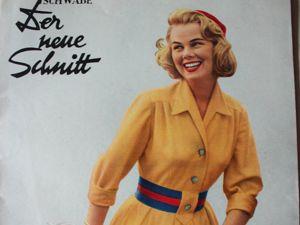 Schwabe der neue Schnitt — журнал мод 9/1957. Ярмарка Мастеров - ручная работа, handmade.