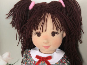 Вальдорфская кукла Карина. Ярмарка Мастеров - ручная работа, handmade.