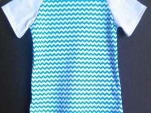 Шьем футболку с рукавами реглан. Ярмарка Мастеров - ручная работа, handmade.