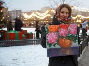 2 часть  «Новогодняя ярмарка живописи в Питере». Ярмарка Мастеров - ручная работа, handmade.
