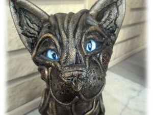 Кожаная сумочка-кошка. Ярмарка Мастеров - ручная работа, handmade.