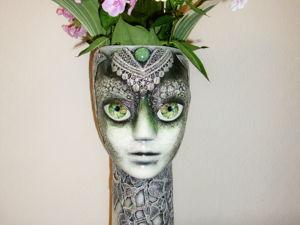 Как сделать оригинальную вазу для цветов из манекенов. Ярмарка Мастеров - ручная работа, handmade.