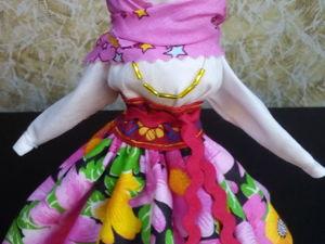 Славянская народная кукла Столбушка Берегиня.  Оберег. Ярмарка Мастеров - ручная работа, handmade.