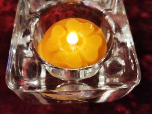 Свеча Четырёхлистный клевер — символ удачи. Ярмарка Мастеров - ручная работа, handmade.