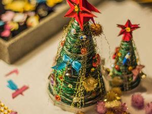 Видео мастер-класс: мастерим ёлочку из запасов хомяка. Ярмарка Мастеров - ручная работа, handmade.