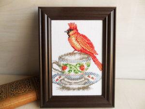 Щедрый аукцион на картину с попугаем. Ярмарка Мастеров - ручная работа, handmade.