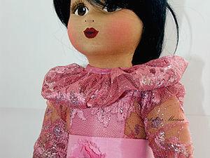 Мастер-класс: рождение куколки «Glorex». Часть третья. Ярмарка Мастеров - ручная работа, handmade.