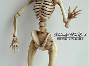 Делаем ООАК из Скелиты. Часть 1: тонирование тела. Ярмарка Мастеров - ручная работа, handmade.