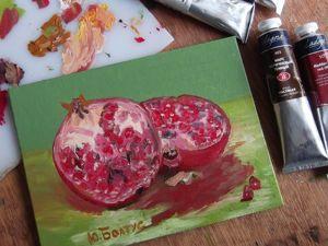 Часть 2. Как начать писать маслом. Ярмарка Мастеров - ручная работа, handmade.