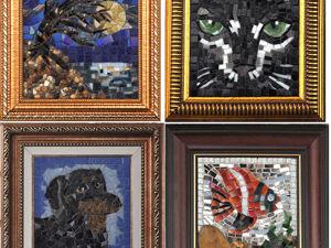 Картины из мозаики. 50% скидка. Ярмарка Мастеров - ручная работа, handmade.