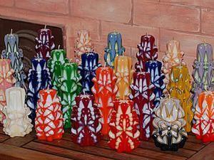 История создания резных свечей. Ярмарка Мастеров - ручная работа, handmade.