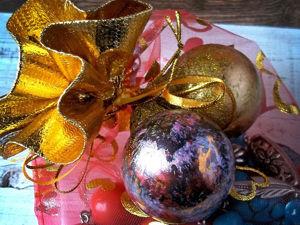 Мастер-класс по декорированию ёлочных шариков. Ярмарка Мастеров - ручная работа, handmade.