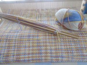 Беру заказы на домотканые шарфы  и вязаные коврики!. Ярмарка Мастеров - ручная работа, handmade.