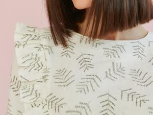 Обзор льняного платья с рюшами. Ярмарка Мастеров - ручная работа, handmade.