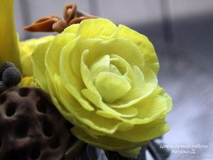 Цветочная композиция  «Ваниль» ! Только 23 февраля скидка 30%!. Ярмарка Мастеров - ручная работа, handmade.